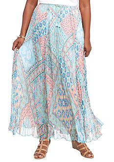 Ruby Rd Plus Ti Amo Yoryu Broomstick Skirt
