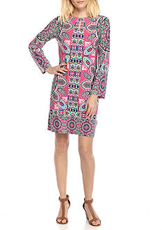 Ruby Rd Cool Summer Paisley Print Dress