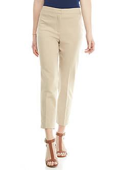Ruby Rd Desert Rose Double Face Straight Pant