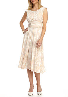 Ruby Rd Desert Rose Ruched Dress