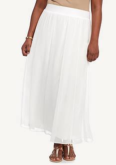Ruby Rd Plus Desert Rose Long Yoryu Skirt