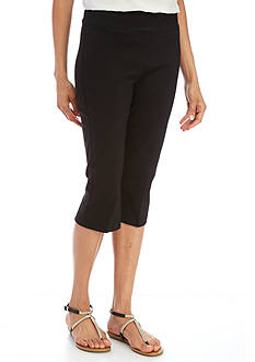 Ruby Rd Solid Stretch Capri Pant