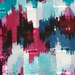 Plus Size Tops: Tunics: Punch Multi Ruby Rd Plus Size Prints Please Chiffon Tunic