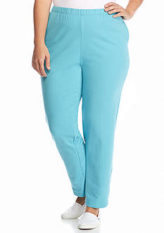 Ruby Rd Plus Size Instant Replay Knit Pants