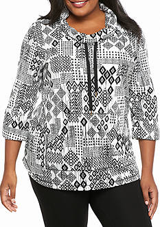 Ruby Rd Plus Size Must Haves Aztec Top