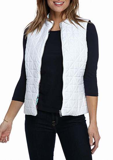Ruby Rd Fresh Start Stand Clear Reversible Vest