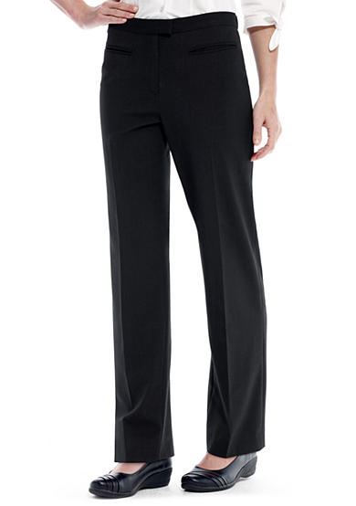 Ruby Rd Petite Extended Tab Side Elastic Pant