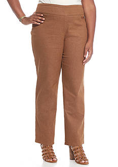Ruby Rd Plus Size Key Items Stretch Pant