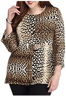 Ruby Rd Plus Size Must Have Embellished Scoop