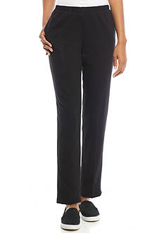 Ruby Rd Must Haves Athleisure Pull On French Terry Pant