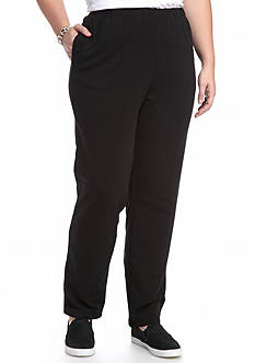 Ruby Rd Plus Size French Terry Pant