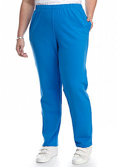 Ruby Rd Plus Size Frenth Terry Pant