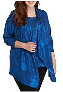 Ruby Rd Plus Size Key Item Foil 2Fer