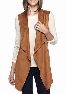 Live a Little Super Faux Suede Vest