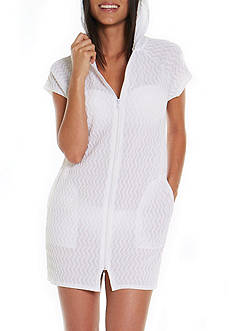 Jordan Taylor Hooded Tunic Swim Cover Up