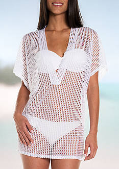 Jordan Taylor Knit Tunic Swim Cover Up