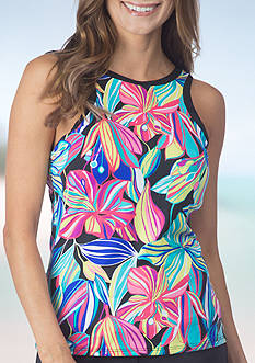 24th and Ocean Palima High Neck Tankini