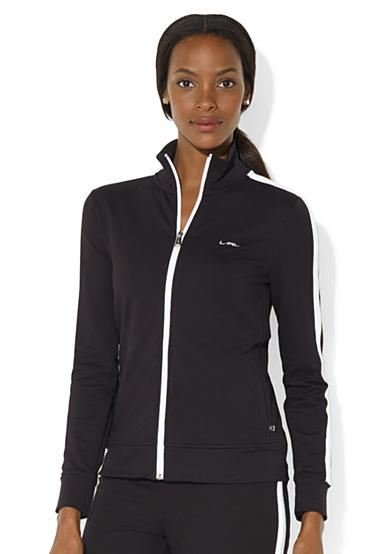 Lauren Active Stretch Mockneck Jacket<br>