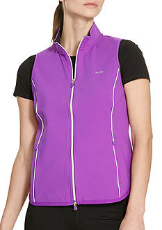 Lauren Active Jersey Full-Zip Vest
