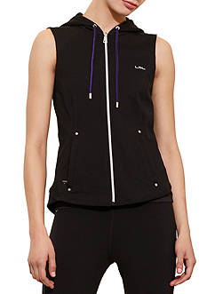 Lauren Ralph Lauren Hooded French Terry Vest