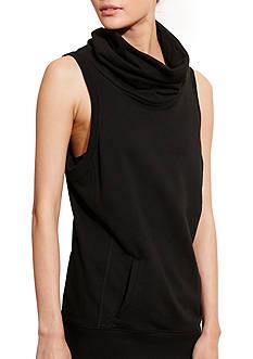 Lauren Ralph Lauren Dress Apparel Sleeveless Funnelneck Pullover