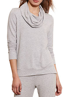 Lauren Active Cowlneck French Terry Pullover