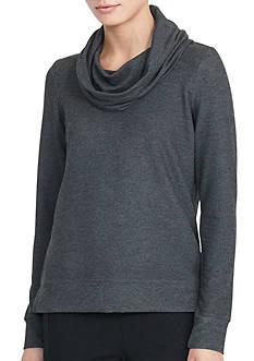 Lauren Ralph Lauren Jersey Cowlneck Pullover