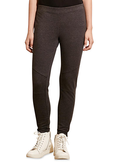 Lauren Ralph Lauren Paneled Stretch Cotton Legging