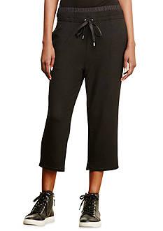 Lauren Ralph Lauren Cropped Drawstring Pant