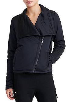 Lauren Ralph Lauren Jersey Moto Jacket