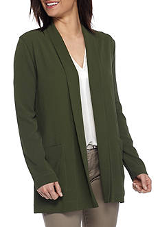 New Directions® Long Sleeve Woven Jacket