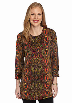 New Directions Paisely Printed Swing Top