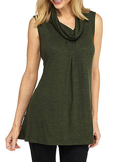 New Directions Cowl Neck Tunic