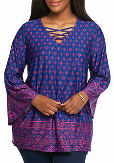 New Directions® Plus Size Tunic