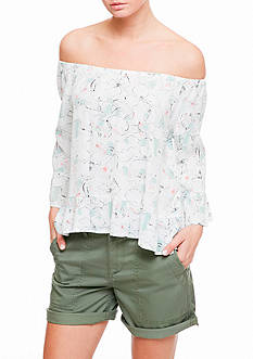 Sanctuary Julia Off The Shoulder Shirt
