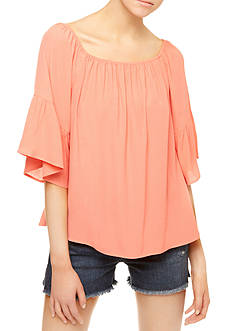 Sanctuary Flor Off the Shoulder Top