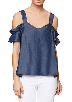 Sanctuary Annie Bare Shoulder Blouse