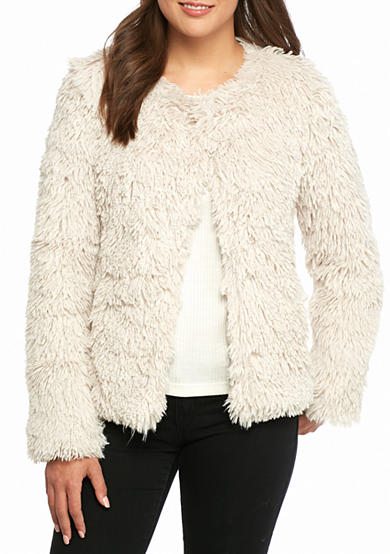 Sanctuary Stella Faux Fur Jacket