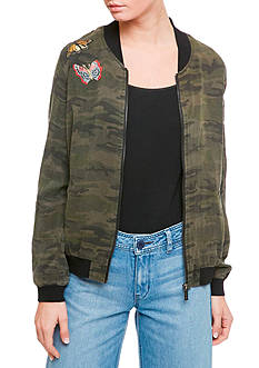 Sanctuary Butterfly Bomber Jacket