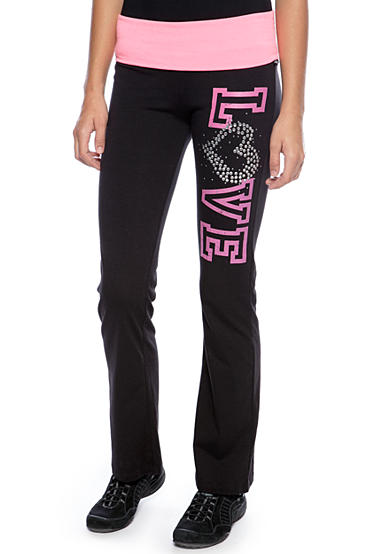 LA Kitty Rollover Yoga Pant
