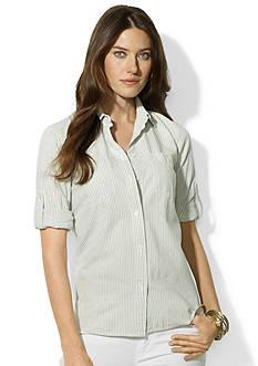 Lauren Jeans Co. Carter Roll-Sleeve Shirt