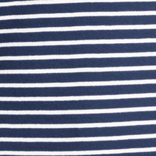 Women: Lauren Jeans Co. Tops: Marina Navy/White Lauren Jeans Co. Striped Shirt