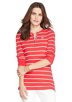 Lauren Jeans Co. Long-Sleeved Crewneck Henley