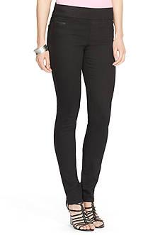 Lauren Jeans Co. Seamed Legging