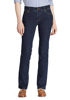 Lauren Jeans Co. Slimming Classic Straight Jean<br>