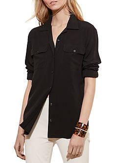 Lauren Jeans Co. Jersey Workshirt