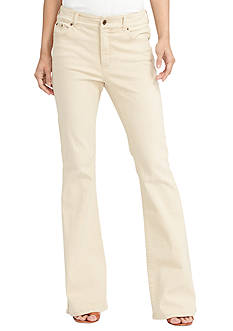 Lauren Jeans Co. Premier Flared Jeans