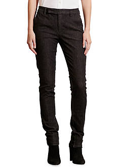 Lauren Jeans Co. Straight Denim Pant