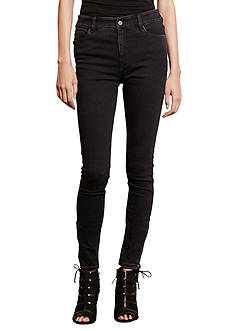 Lauren Jeans Co. Zip-Cuff Skinny Jean