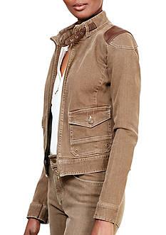 Lauren Jeans Co. Ivabelia Denim Jacket